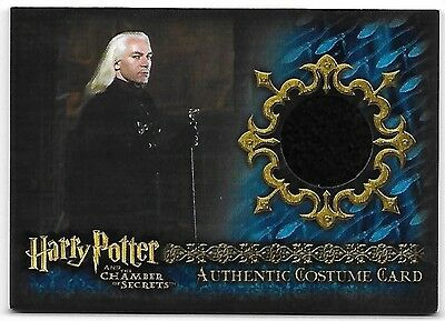 Harry Potter and the Chamber of Secrets C8 Costume Wardrobe Card Lucius Malfoy