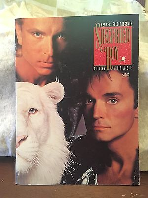 1991 Siegfried and Roy At The Mirage Souvenir Program