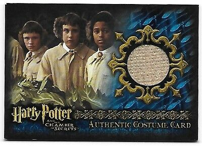 Harry Potter and the Chamber of Secrets C15 Costume Wardrobe Card Seamus Jacket