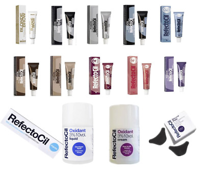 Refectocil Eyelash & Eyebrow Tint or Oxidant