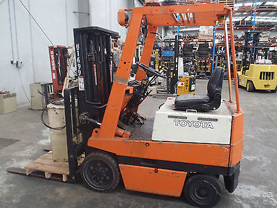 1.5t Container TOYOTA Forklift - CHEAP!