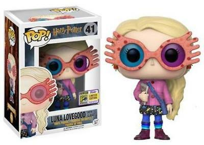 "SDCC 2017 ""Official"" FUNKO POP! MOVIES HARRY POTTER - LUNA LOVEGOOD with GLASSES"
