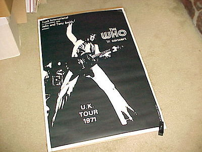 The Who Poster #1 The Who In Concert