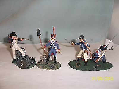 4 Napoleonic Soldiers 1806-1815, Complete (Test-)Series, 54mm, Editions Atlas