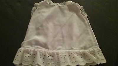 Vintage Baby and  Doll  Clothes, Lot OF 3 DOLL TOPS  & 1 Baby Dress, VERY NICE