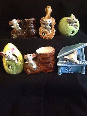 Vintage Collection Of 6 Mouse In A Boot & Friends
