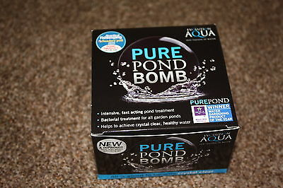 Evolution Aqua Pure Pond Bomb Koi Pond Filter Fish
