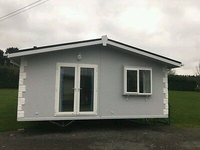 Twin unit mobile home chalet lodge