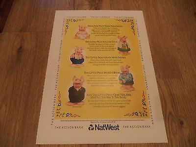 Wade Nat West Piggies  Vintage Magazine  Advert    Print