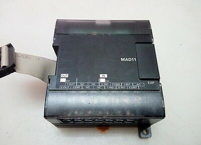 1PCS Used CP1W-MAD11 Omron PLC expansion module
