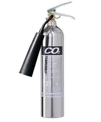COMMANDER COEX2 2KG CO2 Fire Extinguisher New (For Class B Fires)