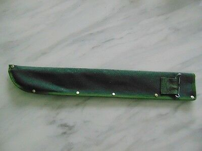 Machete Scabbard To Fit 50cm Long Blade-With Belt Attachment-Olive Green