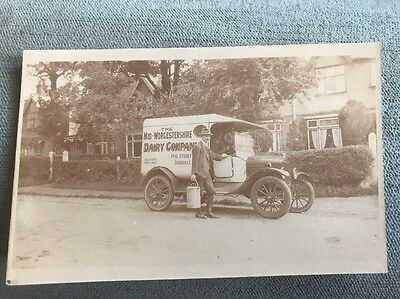 Sparkhill Nr Birmingham Stoney Lane Mid Worcestershire Dairy Co Delivery Vehicle