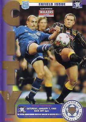 LEICESTER v ENFIELD 1994/95 FA CUP 3RD ROUND