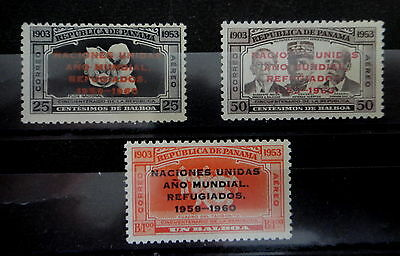 PANAMA 1960 Stamps SET - WORLD REFUGEE YEAR - MNH - Very Fine - r3b642