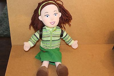 """Original Balamory Miss Hoolie Soft Toy Talks Sings 15"""" comes with her backpack"""