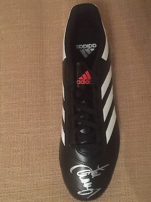 Signed Jamie Carragher Football Boot