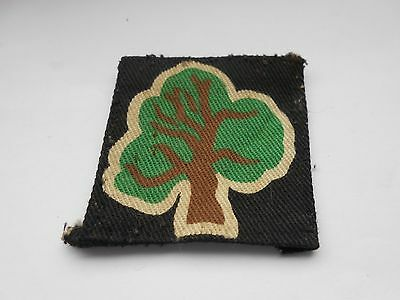 46th north midland  printed   cloth formation sign military unit patch