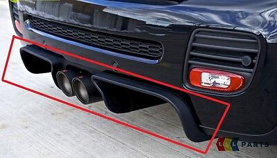 Mini New Genuine R56 R57 R58 R59 Jcw Aerodynamics Gp2 Rear Center Diffuser