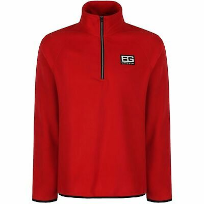 Bear Grylls Mens Microfleece Bear Core Half Zip