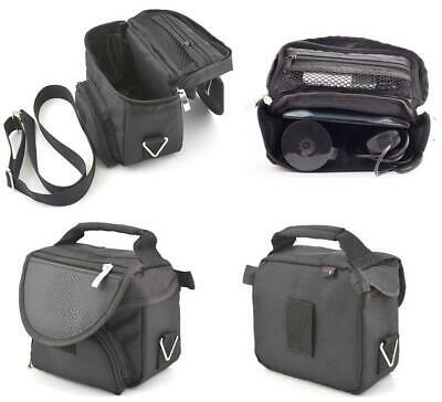 Carry Case For 5'' 6'' Sat Nav GPS & Dash Cam Travel Bag With Accessory Storage