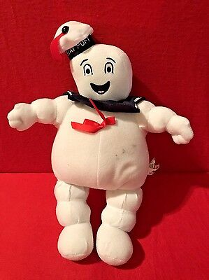 Vtg 2011 Ghostbuster Movie Plush Stay Puft Collectible Marshmallow Man Toy Ghost