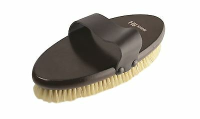 HySHINE Deluxe Horse Pony Grooming Body Brush with Pig Bristles 10482