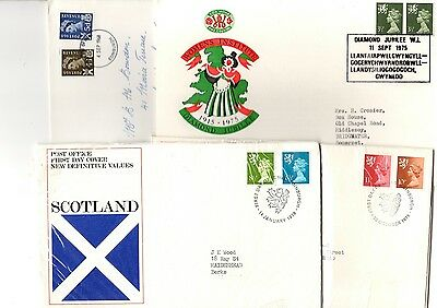 Collection of regional covers/FDCs