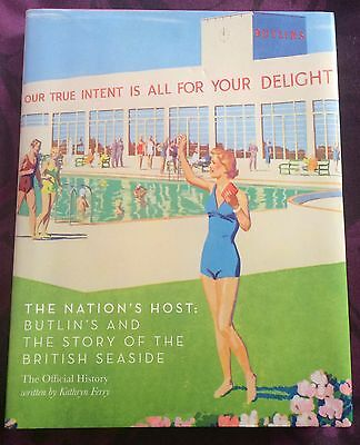 The Nations Host - Hardback Book About The Butlins's Story