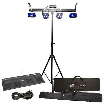 Chauvet GIG BAR 2.0 4-in-1 Lights with Stand and Wireless Footswitch plus UV