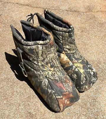 Mossy Oak Icebreaker Boots Blankets Cover Insulated Camo Hunting  Mens Size L