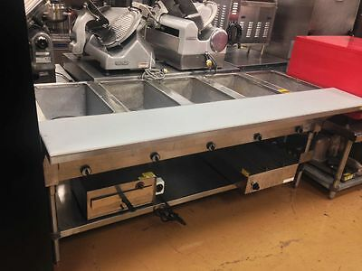 Advance Tabco 5 Well Steam Table Electric HF-5E-240 Serving Line - 2016 Model!