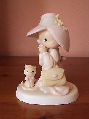 Precious Moments 1983 To A Very Special Mom Jonathan & David Porcelain Figurine