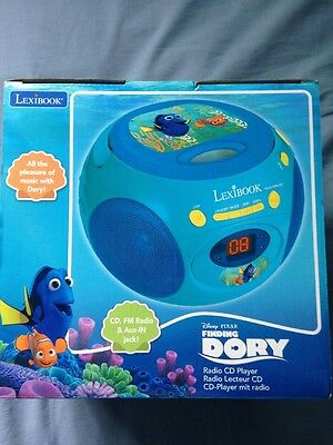 Finding Dory Radio CD Player For Kids with Radio