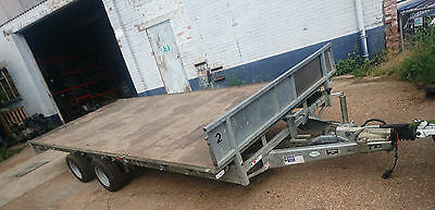 ifor williams LM187  3500kg twin axle