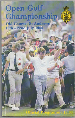 1984-114th OPEN CHAMPIONSHIP-SEVE BALLESTEROS-SPAIN @ST ANDREWS-GOLF PROGRAMME
