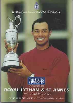 2001-130th OPEN CHAMPIONSHIP-DUVAL-USA @ROYAL LYTHAM-OFFICIAL GOLF PROGRAMME