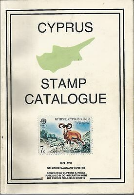 Cyprus 1878-1991,by Povey Book,new Specialized In Watermarks,errors & Varieties.