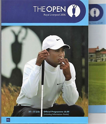 2006-135th OPEN CHAMPIONSHIP-WOODS-@ROYAL LIVERPOOL-OFFICIAL GOLF PROGRAMME