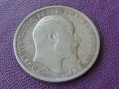 1910 Silver Three Pence Edward VIII