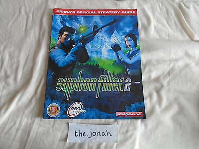 Syphon Filter 2 - Sony Playstation PS1 Prima's Official Strategy Guide