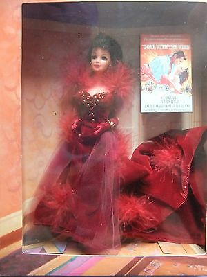Gone with the wind scarlett barbie doll clothes dress fashion gown outfit