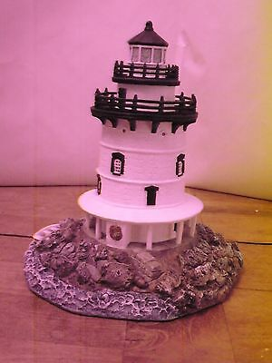 Harbour Lights Old Saybrook Connecticut Lighthouse 1998 #206 3521/10000 Signed
