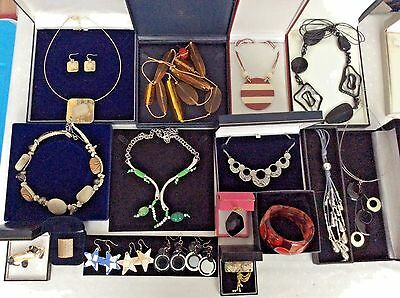 Job Lot of Mixed Items Quantity Modernist style Costume Jewellery