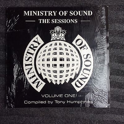 Ministry Of Sound Sessions Vol One  2 X Lp Compiled By Tony Humphries