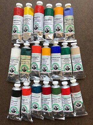 OLD HOLLAND 20 tubes 40 ml Oil Paint Lot Cobalt Cadmium**HIGH SERIES**NEW* Art