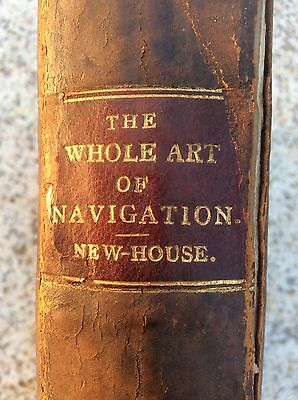 The Whole Art Of Navigation 17th Century Book Captain Daniel Newhouse