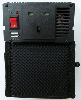 Power Inverter w/ Lithium Battery - on-location continuous LED lighting - Lupo