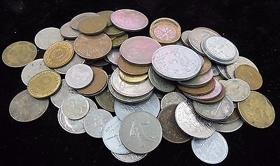 Five (5) Full Pounds Mixed Foreign World Coin Lot