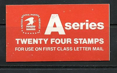 "US #BK133 ""A""  series (eagle) booklet"